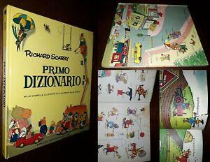 Primo dizionario, Richard Scarry, Le Pietre Preziose Mondadori 1973.