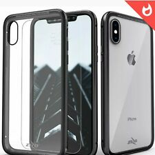 Apple iPhone X / XS ATOM Airframe Grade Case Aluminum Cover With Tempered Glass