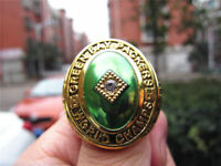 1961 GREEN BAY PACKERS Championship Ring 18k GOLD PLATED Sz. 11 *USA*