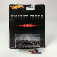 KITT Super Pursuit Mode Knight Rider * Hot Wheels Retro Q Case Premium