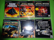 EMPTY CASES!  STAR WARS DARK FORCES Collection PS1 PS2 PS3 Sony Playstation