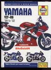 Yamaha YZF-R6 (1999-2002) Haynes Shop Manual Repair Book 600 (CARB) Sports AJ53