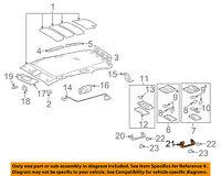 TOYOTA 74611-60010-B0 Seat Assist Grip