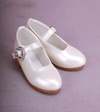 1/3 BJD Boots/Shoes Supper dollfie SD Luts white new  #S61-4