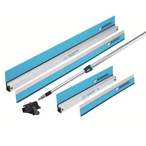 OX Speedskim Deluxe Pack Semi Flexible Plastering Rule Finishing Universal Pole