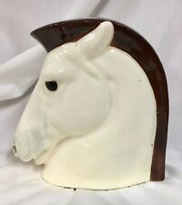 Art Deco Czech Pottery Horse Head