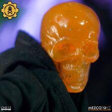Mezco ONE:12 COLLECTIVE Cosmic Color Skull - Orange