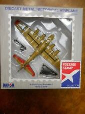 POSTAGE STAMP BOEING B17G FLYING FORTRESS DIECAST WWII MODEL 1/155TH SCALE (NEW)