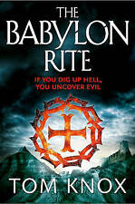 The Babylon Rite, By Tom Knox,in Used but Acceptable condition