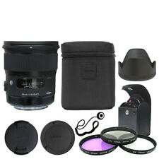 Sigma 24mm f/1.4 DG HSM Art Lens for Canon EF Mount + Deluxe Accessory Kit