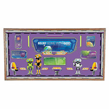 God'S Galaxy Vbs Bulletin Board Set - Educational - 33 Pieces