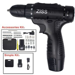 12V Cordless Drill Electric Screwdriver 32/4PCS Drill Set with Battery & Charger