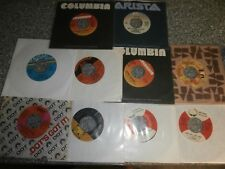 Lot of 50 45 RPM Records Excellent Condition in Sleeves - Many Company Sleeves