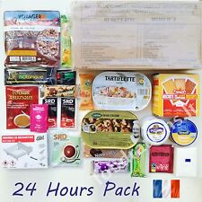 MRE RCIR French Military Food Ration 24H MENU Combat Daily Pack Survival Box