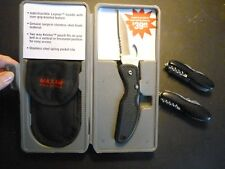 Maxam® Pro Series World's Finest Knive and 2 pocket knifes. Includes all 3.