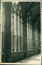 Espagne, Pampelune (Pamplona), 1955 Vintage silver print.  Tirage argentique