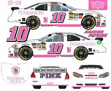 CD_1518 #10 Danica Patrick Victoria Secrets Chevy  1:64 Scale Decals ~OVERSTOCK~