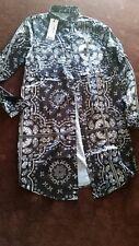 NEW Boohoo Womens Maternity Elisa Printed Shirt Dress -  size 10