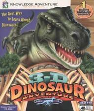 3D Dinosaur Adventure: Anniversary Edition Pc Cd learn Encyclopedia match game!