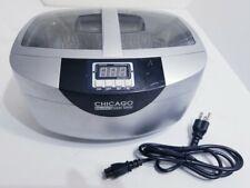 Chicago Digital Ultrasonic Jewelry Cleaner 2.5 Quart Capacity Heated 95563
