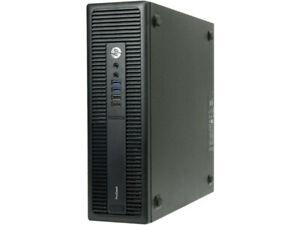 HP ProDesk 600 G2 SFF PC Intel i3-6100 @3.70GHz