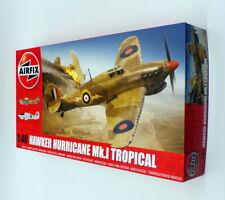 Airfix 1/48 Scale Model Kit A05129 - Hawker Hurricane Mk.I Tropical Aircraft