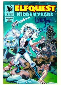 ElfQuest Hidden Years #5 Signed by Wendi Pini & Richard Pini Warp Graphics