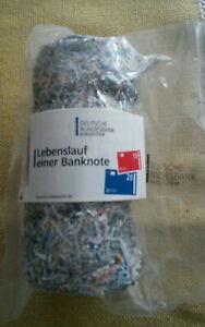 Geld Schreddergeld Euro Deutsche Bundesbank
