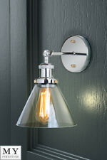 Industrial Wall Light Sconce Wall Lamp - Dion chrome