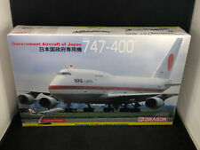 Dragon Government of Japan 747-400 Airliner 1:144 Scale Plastic Model Kit 14702