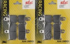 Yamaha YZF1000 R1 2007-2014 Dual Carbon SBS Front Race Brake Pads 839DC YZF-R1