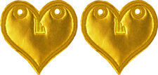 SHWINGS Gold Foil Heart wings for your shoes official designer Shwings NEW 12104