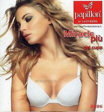 REGGISENO DONNA PUSH UP COPPE GEL CON FERRETTO PAPILLON ART. P2686
