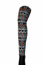 Fair Isle/Aztec multi coloured Leggings