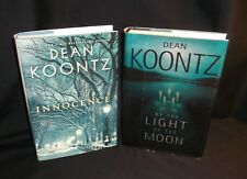 By the Light of the Moon & Innocence By Dean Koontz (2002 & 2014) Hardcovers
