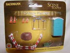 Bachmann Scene Scapes 33164 O-27 Scale Figure Pack Building Site Accessories MIB