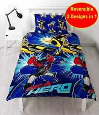 Transformers Hero Single Duvet Reversible Cover Bedding Set for Boys