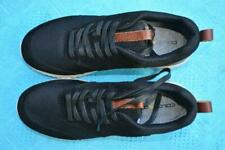 COLORADO BLACK SHOES. Mens Size UK-9/US-10. New RRP $99.95 LACE-UP Leather/Mesh