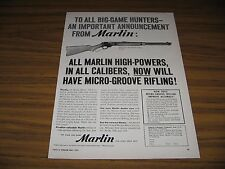 1956 Print Ad Marlin Model 336 30/30 Lever Action Rifle New Haven,CT