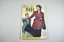 Vive la mode n°5 1956