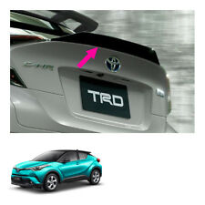 Trd Rear Trunk Lid Spoiler Black Genuine For Toyota C-HR Suv 2018 - 2019