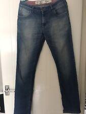 Parx Mens Blue Jeans Size 34 L 86cm.Ex.condition