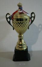 Siegerpokal 36 cm Sieger Pokal Gold Optik Siegerstatue Sieger Statue mit Gravur