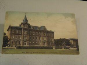 Main Building, Purdue University, Lafayette, Ind.,  Postcard 8/4/21
