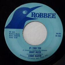 JIMMY MASSI 45 If I Had You / Blue Prelude ROBBEE pop j1127