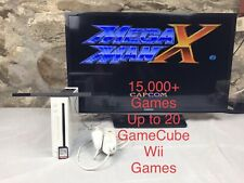 Nintendo Wii Console (Homebrew Modded) with SNES, NES, SEGA, N64, GBA 15,000+