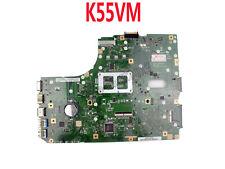 For Asus K55VM Laptop Motherboard S989 60-N88MB1102-C06 K55VM Rev2.0 Main board