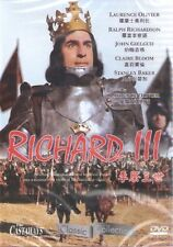 Richard III The Third DVD Laurence Olivier Ralph Richardson NEW R0