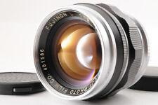 【VERY RARE Near Mint】Fuji FUJINON 50mm 5cm F/2 L Lens For Leica LTM 39 +CAPS JP
