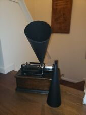 Edison/Columbia Phonograph Reproduction Horn 14 inch.. Nice!!